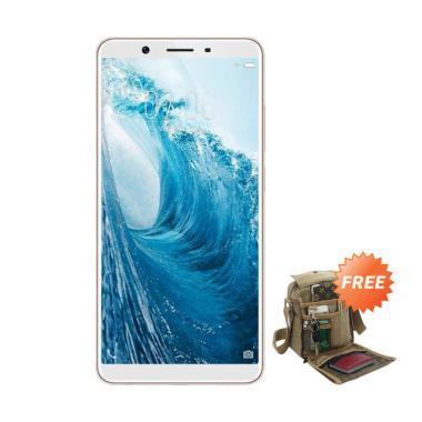 VIVO Y71 Smartphone - Gold [32 GB/ 3 GB] + Free Tas Slempang
