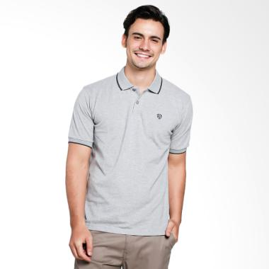 Red Cliff Wangky Polo Shirt Pria - Grey [XD1007JJ]