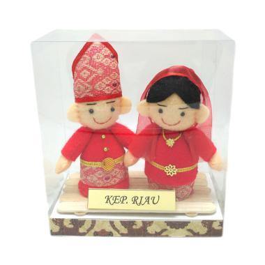 MMS Pakaian Adat Kepulauan Riau Boneka