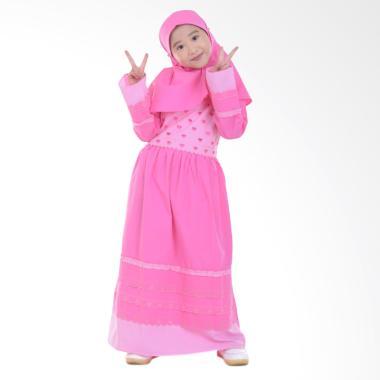 Jesca and Paul 210 Lovina Gamis Baju Muslim Anak - Pink
