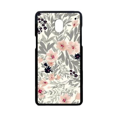 Bunnycase Drawing Flower L0349 Custom Hardcase Casing For Samsung J7 Pro Or 2017
