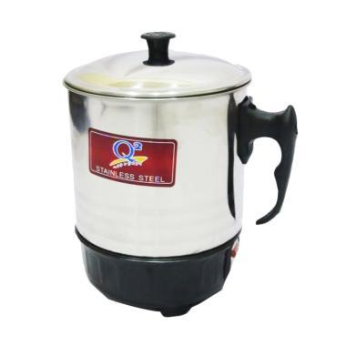 Q2 Electric Heating Mug - Silver [15 cm]