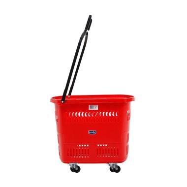 Rovega BAS-01 Premium Keranjang Belanja - Merah