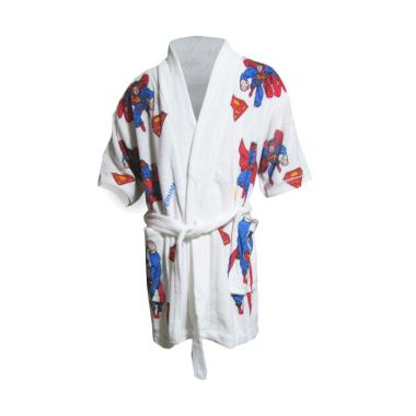 Rainy Collections Karakter Superman Handuk Kimono Bayi
