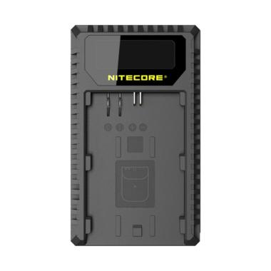 Nitecore UCN1 USB Travel Charger fo ... Ion Batteries [Dual Slot]
