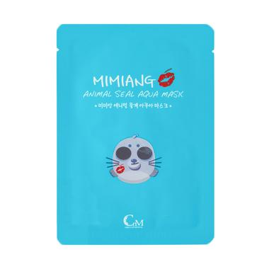 Mimiang Animal Seal Aqua Mask Masker Wajah [10 pcs/ Box]