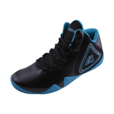 League Fundamental Sepatu Basket Unisex  - Black Blue