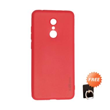 Lize Slim Case Xiaomi Redmi 5 Plus  ... lder Ring Stand HP Random
