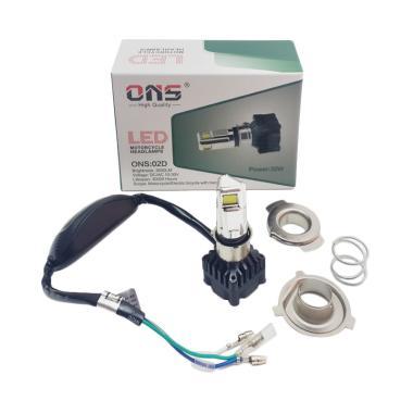 harga Ons M02D LED 3 Sisi AC/DC Bohlam Lampu Depan Motor Blibli.com