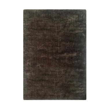 Vision CR 502 Soft Shaggy Polos Karpet - Brown [180 x 270 cm]