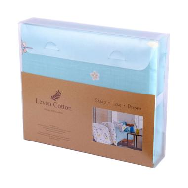 Leven Cotton Hyde Summer Park Katun Jepang Fitted Sheet Set Sprei
