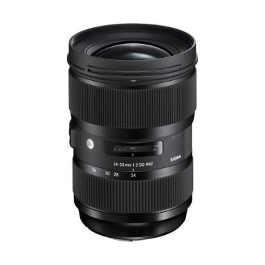 Sigma 24-35mm F2 DG HSM A Lensa Kamera For Nikon Black