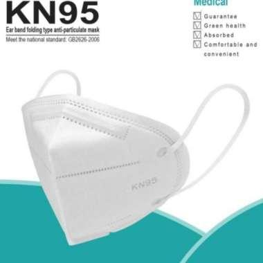 harga (1 BOX ISI 10 PCS) Masker N95 KN95 3M 9010 - Medical Protective Respiratory Mask Blibli.com