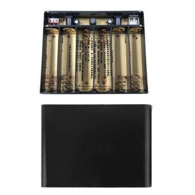 harga Berkah  Wili Power Bank Usb Dc 12v 10a Output 6pcs Baterai 18650 Diy Untuk Router Led Handphone Blibli.com