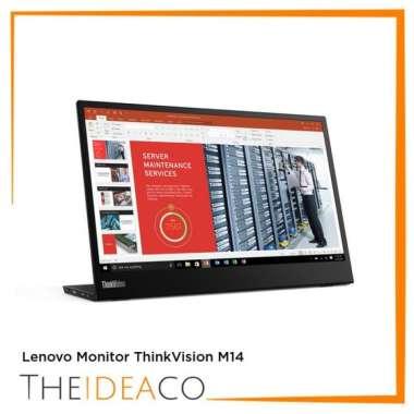 harga Promo Lenovo Monitor Thinkvision M14 Blibli.com