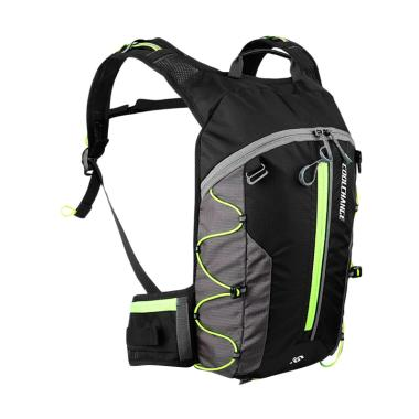 CoolChange 03010 Waterproof Tas Ransel Gunung - Black Green [10 L]