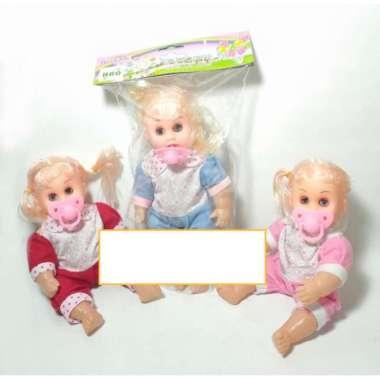 harga Mainan Anak Boneka Baby Bayi Perempuan Dot Empeng Menangis Berbicara Blibli.com