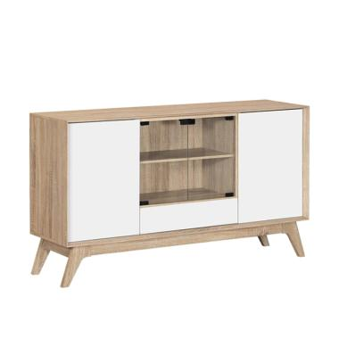 Graver Furniture CRD 2286 Meja TV - Brown Cream [Jabodetabek]