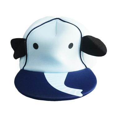 Skiphop Animal Elephant Snapback Topi Anak - Sky Blue 041c0afdd9