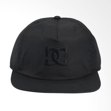 DC Floora Headwear Anhracite Topi Pria [KVJ0]