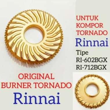 harga NO ONGKIR Burner Kompor Gas Original Rinnai Tornado RI-602-712-BGX Blibli.com