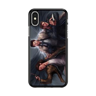 Flazzstore Supernatural Painting Art Y0736 Premium Casing for iPhone X