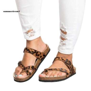 harga Sandal Jepit Wanita Model Flat dengan Strap Buckle untuk Musim Blibli.com