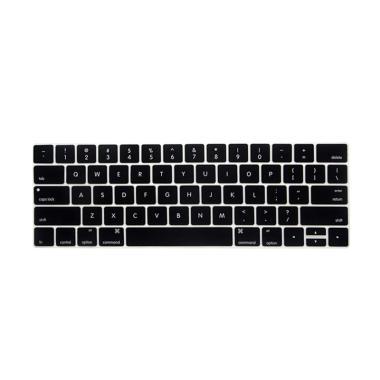Crystal Guard Silicone Keyboard Cov ... cbook Pro Toucbar 13 inch
