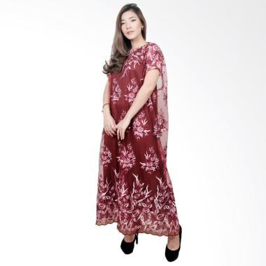 Macadamia House D7684 Cassie Tile Gamis Long Dress Wanita