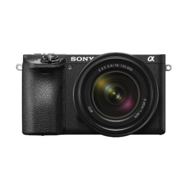 SONY Alpha A6500 Kit 18-135mm Kamer ... y sd 64 Gb + Screen Guard