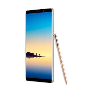 Promo Agent Prudential - Samsung Galaxy Note8 Smartphone - Maple Gold [64 GB/6 GB]