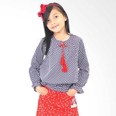 Kids Icon LYB030K017K-B Blouse with ... ail Atasan Anak Perempuan