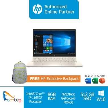 harga HP Laptop Pavilion 14 DV0068TX / Intel i7 1165G7 / 8GB / 512GB SSD (2N1H9PA) Blibli.com