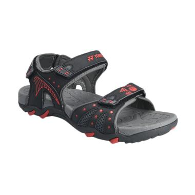 YONEX Men Sandals Power Walk Sandal ... ack [SDLPOWERWALK-GYBKZZ]