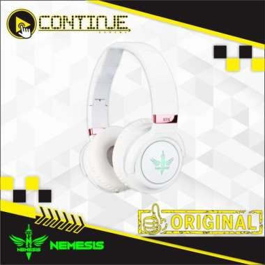 harga Headset Wireless Gaming NYK RGB X-800 Putih Blibli.com