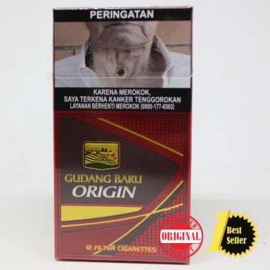 Gudang Baru Origin 12 /Rokok Gudang Baru Origin isi 12 batang / 1 slop 10 pack