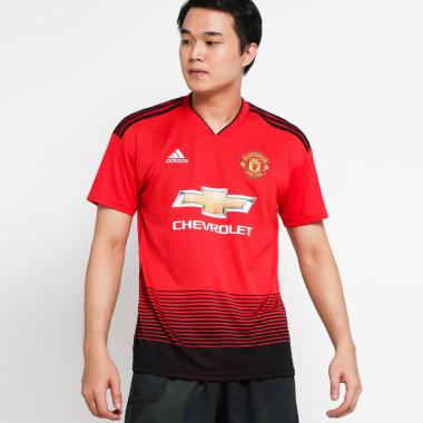 hot sale online 1c7b6 be911 adidas Men Football Manchester United Home Jersey Baju Sepakbola Pria  [CG0040]
