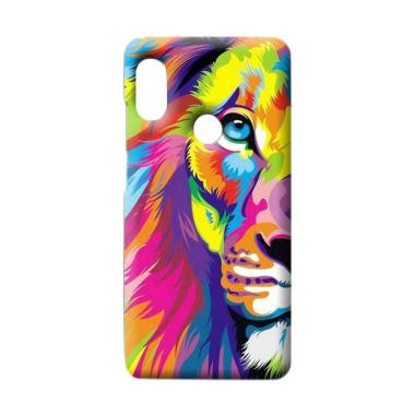 OEM Lion Custom Hardcase Casing for Xiaomi Redmi Note 5 Pro