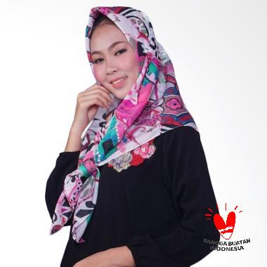mydailyhijab Motif Jilbab Segiempat - Print Flower