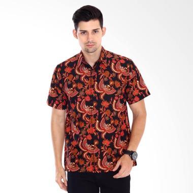 Adinata Batik Cedhana Hem Batik Pria Lengan Pendek