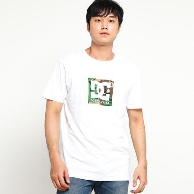 DC Camo Boxing SS M Tees T-Shirt Pria - White
