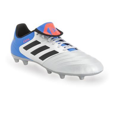 adidas Men Copa 18.3 Firm Ground Sepatu Sepakbola Pria - Silver Metallic  Core Black Blue   e108513a8a
