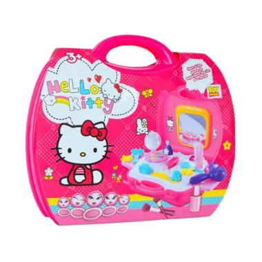 Toy Studio MOMO Beauty Set Make Up Koper HK Mainan Anak - Pink
