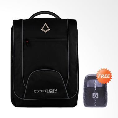 Carion Tas Ransel Laptop Pria + Free Raincover V7