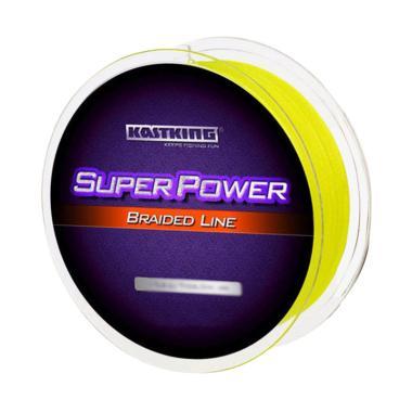 KastKing PE Fiber 0.08mm Senar Pancing - Yellow [300 Meter]