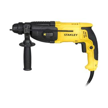 Stanley SHR263KA-B1 90-596N-23es SDS Plus Rotary Hammers Mesin Bor [800W/ 26mm/ 3 Mod Set]