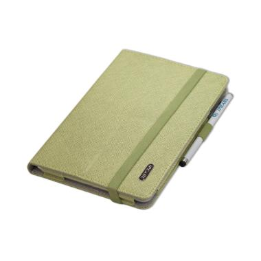 harga IPearl Leather with Stand Casing for iPad Mini Green Blibli.com