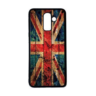 harga HEAVENCASE Motif Bendera Inggris 09 Softcase Casing for Samsung Galaxy J8 - Hitam Blibli.com