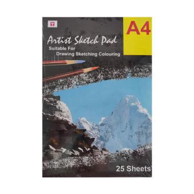 Tiara Shakti Sketch Pad Book 150 Gr ...  Buku Sketsa Lukis Gambar