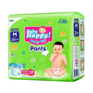 Baby Happy Pants Popok Bayi [Size M/ 20 pcs]